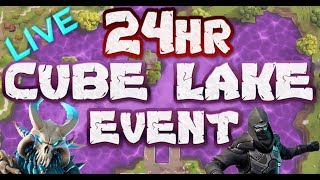 FORTNITE - 24HR LOOT LAKE EVENT LIVE - CUBE LAKE EVENT ACTIVATED - 24HR COUNTDOWN AND TIMES