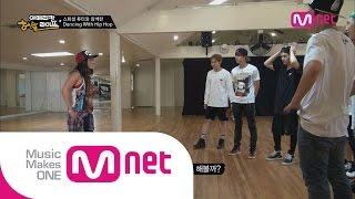 [ENG sub] Mnet [BTS의 아메리칸허슬라이프] Ep.03 : 방탄소년단, 힙합튜터 제니 키타 앞에서 댄스 실력 테스트!