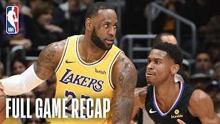 CLIPPERS vs LAKERS | The LA Teams Battle In Staples Center | March 4, 2019