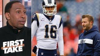 Sean McVay under pressure to beat the Dallas Cowboys – Stephen A. | First Take
