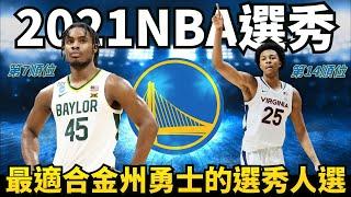 2021年NBA選秀最適合金州勇士隊的人選!模板Jrue Holiday的防守大鎖Davion Mitchell加上潛力3D側翼Trey Murphy會是勇士隊的解答嗎?
