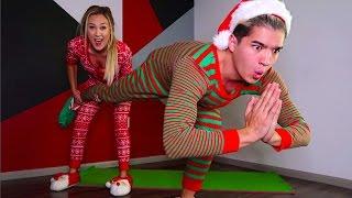 COUPLES CHRISTMAS YOGA CHALLENGE!