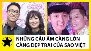 Những Cậu Ấm Càng Lớn Càng Đẹp Trai, Ít Người Biết Của Sao Việt