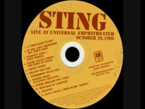 Sting - Ghost Story - Live at Universal Amphitheatre
