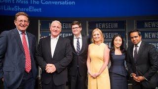 """Inside Politics"" with CNN's John King at the Newseum"