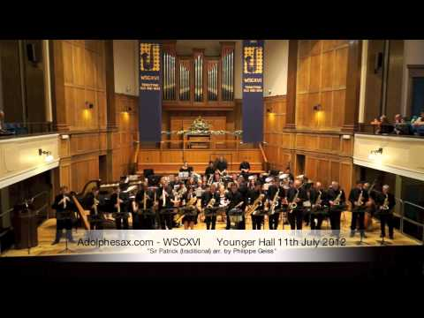WSCXVI Sir Patrick traditional arr  by Philippe Geiss