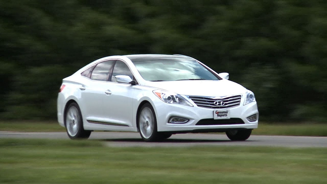 Hyundai Azera 2016 >> 2012 Hyundai Azera review from Consumer Reports - YouTube