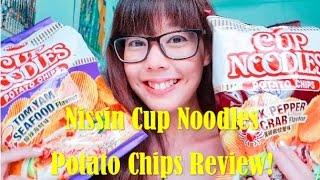 Nissin Cup Noodles Potato Chips Review (Singapore Version) | mitsueki Eats!
