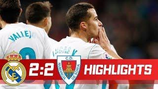 Real Madrid vs Numancia 2-2 Resumen Highlights 10/01/2018 | Реал Мадрид - Нумансия Обзор матча