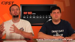 2013 Fantasy Football First Round Projections