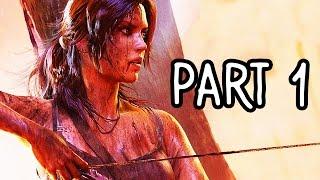 Rise of the Tomb Raider Gameplay Walkthrough Part 1 - LARA CROFT RETURNS!! FULL GAME (XB1 1080p HD)