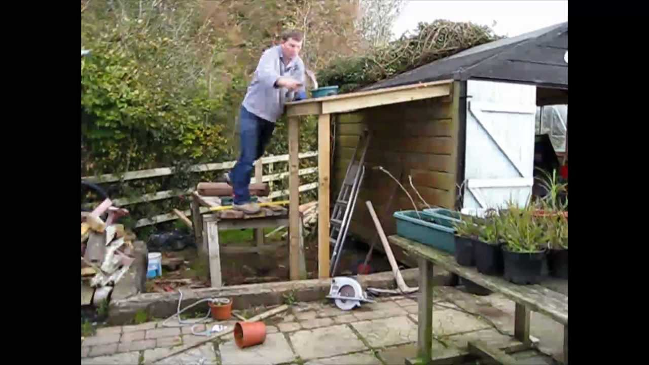 Tifany Blog How To Build A Shed Extension