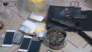 Sử dụng ma túy lại còn tàng trữ vũ khí quân dụng