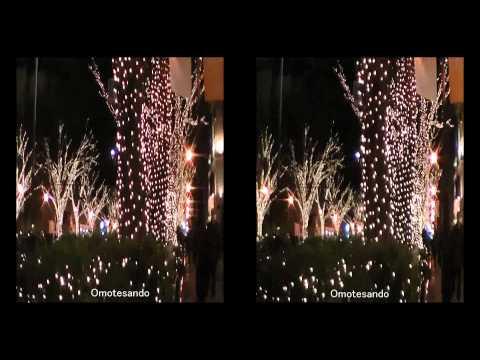2010 Winter Tokyo Illuminations 3D