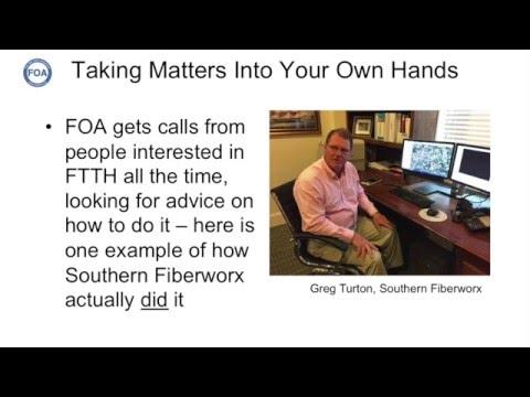 Lecture 46 DIY FTTH Southern Fiberworx