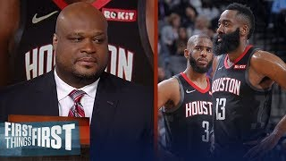 Antoine Walker on Houston Rockets: Everybody should been the block | NBA | FIRST THINGS FIRST