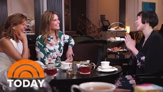 Watch Savannah Guthrie And Hoda Kotb Learn Royal Etiquette | TODAY