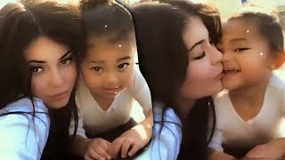 Stormi Kisses Kylie Jenner In New Video