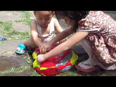 Mainan Anak Anak Balon Karakter Car Mcqueen Toys || Balon Udara di isi Air