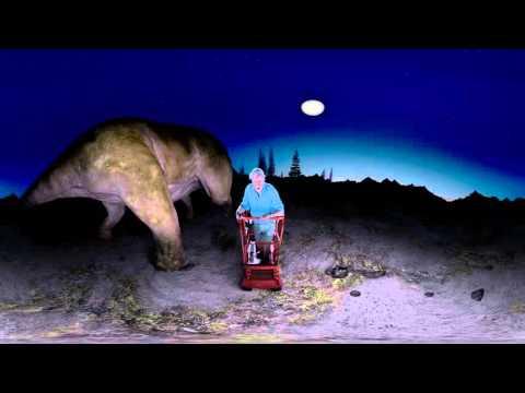Upoznajte dinosaurusa uživo (VIDEO 360°)