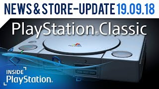 PlayStation Classic angekündigt! | Inside PlayStation News & Store Update