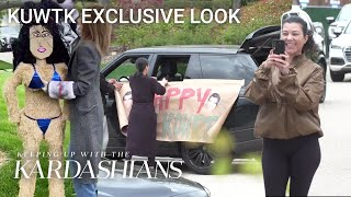 See Kourtney Kardashian's Surprise Birthday Parade | KUWTK Exclusive Look | E!