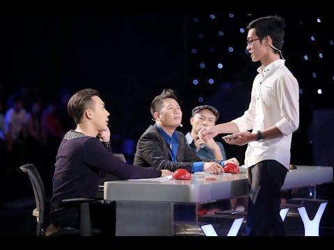 Vietnam's Got Talent 2016 - TẬP 6 - Ảo thuật công nghệ - Nguyễn Duy Khang