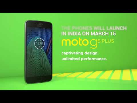 Moto G5 and G5 Plus First Look  Digitin