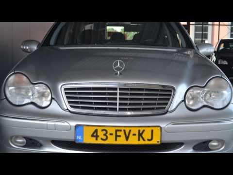 Mercedes-Benz C-Klasse 200 K. ELEGANCE Airco ECC Navigatie Cruise control