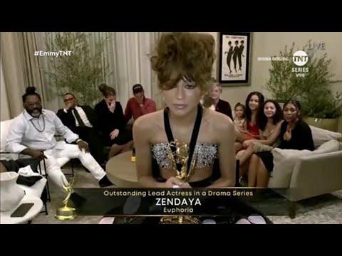 Zendaya / Lead actress in a drama series / Emmy Awards 2020