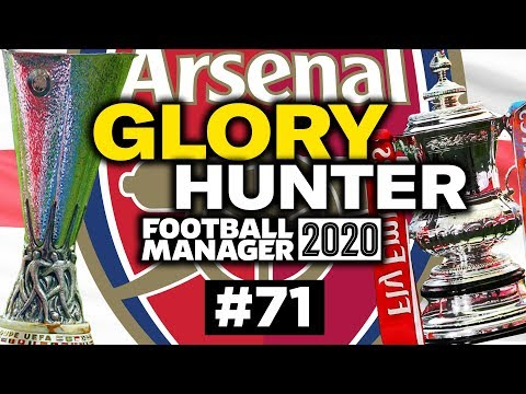 GLORY HUNTER FM20   #71   1 MANAGER 2 CUPS!   Football Manager 2020