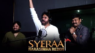 Pawan Kalyan Voice Over For Sye Raa Teaser- Promo-Chiranje..