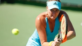 WTA R3 Highlights: Mladenovic Vs. Halep