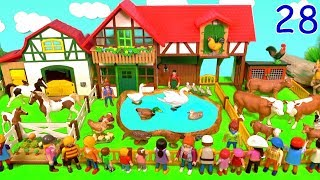 Learn Colors With Farm Animals - Surprise Animal Toys Visit The Farm - Fun Toys For Kids 28