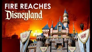 FIRE NEAR DISNEYLAND! - BREAKING NEWS!