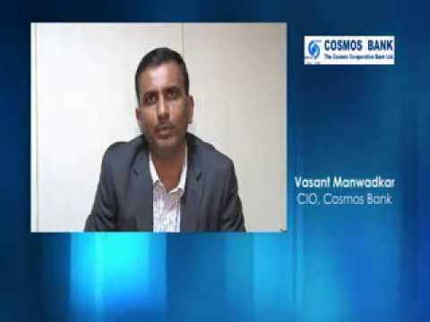 Listen to Vasant Manwadkar, CIO, Cosmos Bank, talks about DR Management using Sanovi DRM Software
