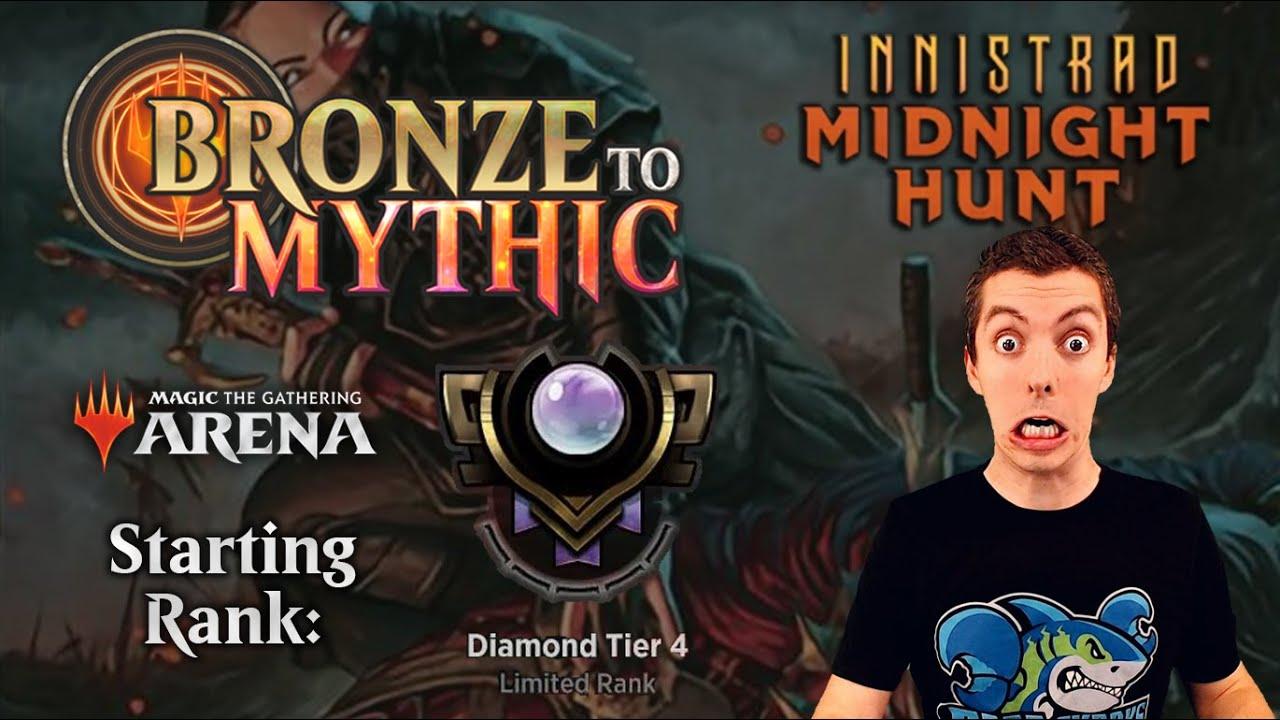 💎 MTG Arena: Bronze To Mythic: Episode 12 - Starting Rank: Diamond 4 (Innistrad Midnight Hunt Draft)