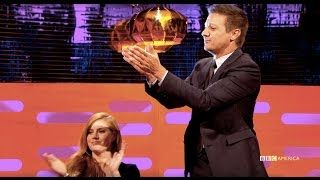 Amy Adams  & Jeremy Renner Applaud The Most Savage Wedding Story - The Graham Norton Show