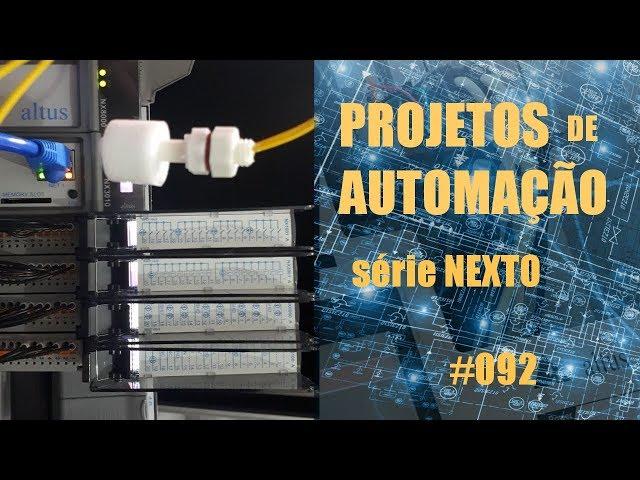 CONFIGURANDO BARRAMENTO (BUS E/S) CLP NEXTO | Projetos de Automação #092