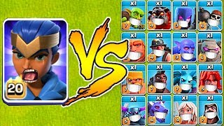 "MAX LVL ROYAL CHAMPION vs. EVERYONE!!  ""Clash Of Clans"" TH13 UPDATE!!"