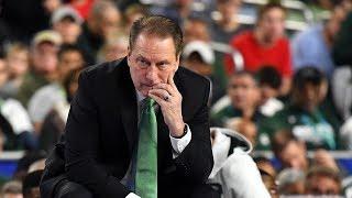 Tom Izzo credits Texas Tech's defense in Michigan State loss