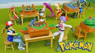 Pokemon Rare Toys - Battle Jungle Game - 4 Packs Unboxing Opening