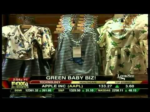 Green Babies on Fox Business News - Happy Hour