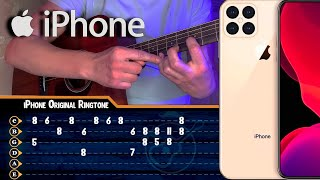 cover iPhone Original Ringtone guitar