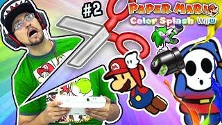 GAME GOT GOODER! Paper Mario Color Splash Part 2 Duddy's Ruddy Road! (FGTEEV WiiU Super Mario Fun)