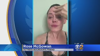 Rose McGowan, Asia Argento React To Death Of Anthony Bourdain