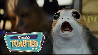 STAR WARS THE LAST JEDI OFFICIAL TRAILER #2 REACTION - Double Toasted