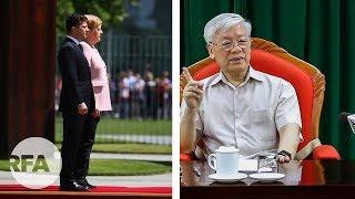 """Thoải mái đưa tin về sức khỏe Thủ tướng Đức, còn sức khỏe lãnh đạo VN lại """"giấu"""""""