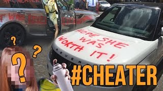 Official Video REVERE NOT REVENGE viral making of the Range Rover #cheater which went viral