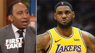 Stephen A. shocked LeBron didn't respond to Kawhi's trolling | First Take